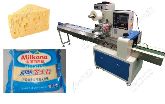 Sliced Cheese Packaging Machine