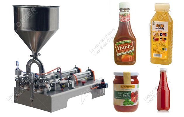 Manual Hand Operated Liquid Bottle Filling Machine