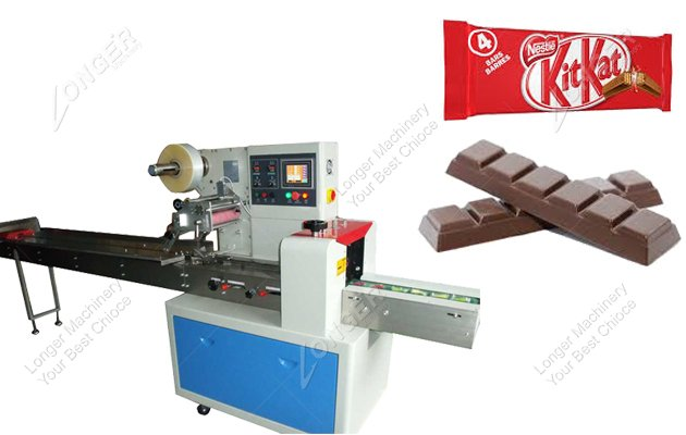 Small Chocolate Bar Wrapping Machine