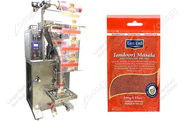 Small Masala Packing Machine
