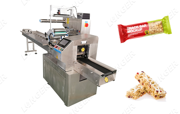cereal bar packaging machine
