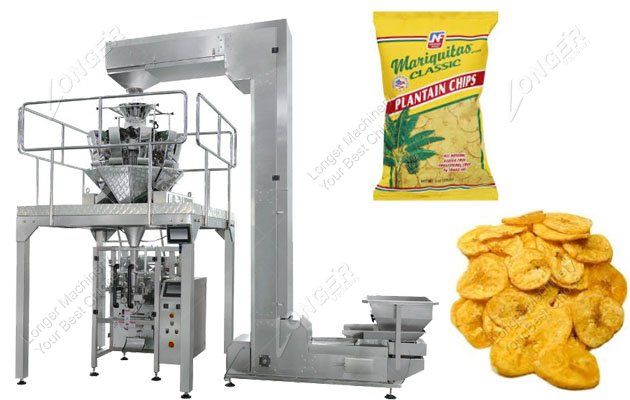 Automatic Plantain Chips Packing Machine