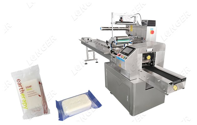 single soap packaging machine